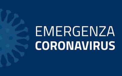 Emergenza Coronavirus 2020 – Gestione delle attività